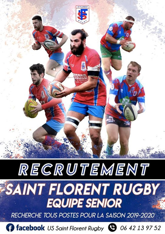 Calendrier 2020 Rugby.U S Saint Florent Rugby